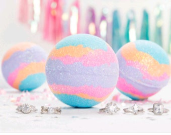 Cotton Candy Bathbombs