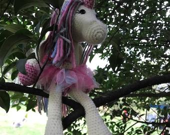 "Amigurumi Crochet Unicorn ""Yauitl"" Unicorn Amigurumi"