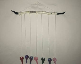 Handmade Wooden Key Chimes