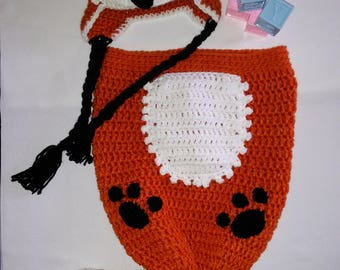 Baby Fox Cocoon Snuggly Set