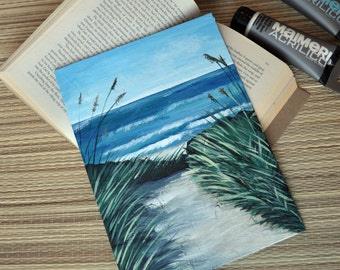 Sea Acrylic Painting,Waves,Sand,Beach,Sea shore,Wall Art,Wall picture,Home decoration,Original painting,Coast,Summer,Vacation,Sea,