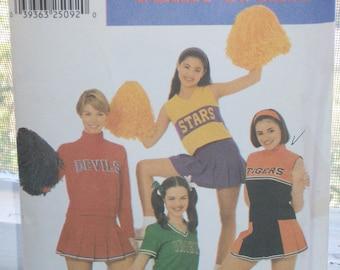 Simplicity pattern 9806-Plus Sizes-Misses Cheerleader Costume Team Spirit