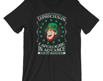 Funny Irish St Patrick's Day Leprechaun