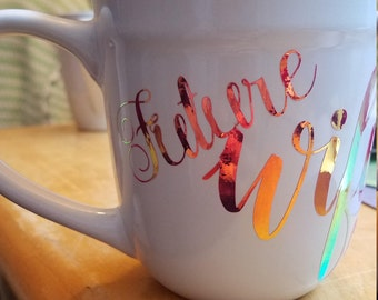 Engagement and/or Married Mug