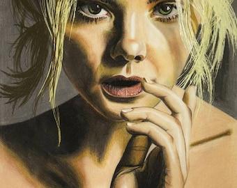Portrait of Elle Fanning