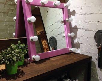 Vanity mirror Hollywood mirror Makeup mirror Showroom mirror Bathroom mirror Full length mirror Hollywood vanity  Home Decor Entry Mirror