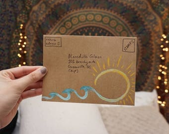 High Tide Hand Painted 10 Pack Envelope