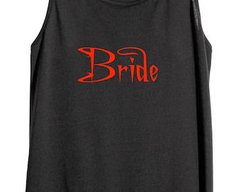 Metal Bride tank top