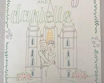 Wedding Doodle 3