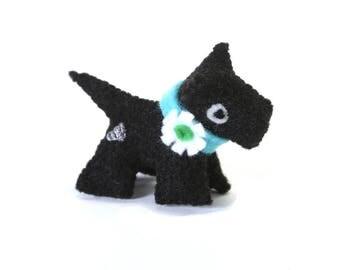 tiny stuffed animals - heartfelt dogs - tiny animals - scottish terriers