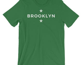 Valentine Gift for Her- Gifts for Men- Gifts for Him- Brooklyn T-shirt- Brooklyn Gifts- New York Gifts- Short-Sleeve Unisex T-Shirt