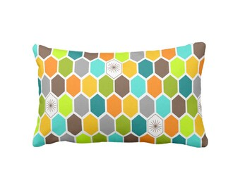 """Apiary Rectangular Pillow 13""""x21"""" Fabric & Color Choice with Free Shipping"""