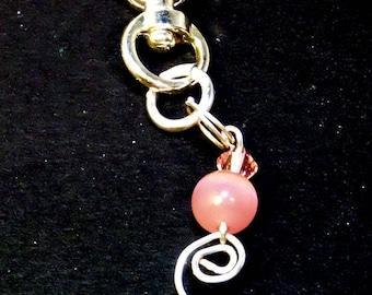 Breast Cancer Survivor Keychain - Breast Cancer Awareness - Pink Cancer - Cancer Keychain - Pink Awareness - Warrior - Cancer Survivor Gift