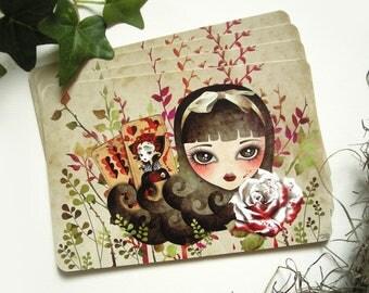 Hidden Garden, Limited Edition Postcard, Snail Mail Swap, Postcrossing