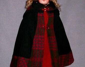 ON LAYAWAY: Antique German Bisque Doll, Antique/Original Clothes