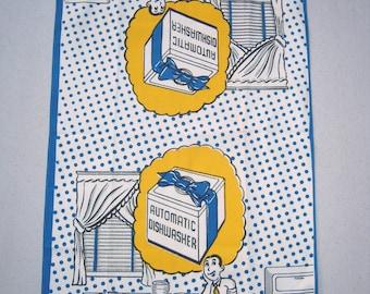 Vintage Towel Dreamin' About a Dishwasher
