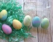 Easter Bath Bomb Set - Easter Egg Bath Bombs - Easter Basket Stuffers for Teens - Easter Basket Fillers for Girls - Easter Bath Bombs  6 SET