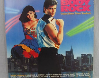 "Body Rock Original Motion Picture Soundtrack Record Vintage 12"" Vinyl LP Album 1984"