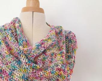 crochet pattern - Coco Shawl