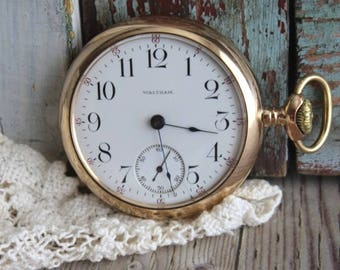 Antique American Watch Company 1903 Pocket Watch by avintgeobsession on etsy...FREE USA Shipping