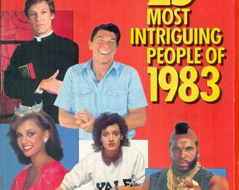 People Magazine The 25 Most Intriguing People of 1983