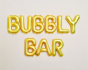 Bubbly Bar Balloons, Bubbly Bar Banner, Bubbly Bar, Pop the Bubbly, Mimosa Bar, Champagne Banner, Pop Fizz Clink, Champagne balloons, Bubbly