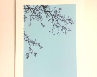 Winter Tree - Print from original papercut A4