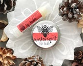 Winter Spirit Lip Balm // Tube // Organic