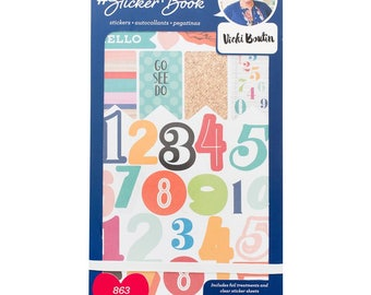 Vicki Boutin Designer #Sticker Book American Crafts Planner Sticker (344864)