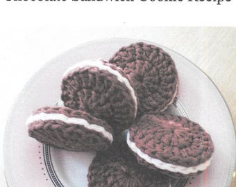 Chocolate Sandwich Cookie Pattern