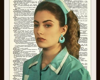 Shelly Johnson Twin Peaks Dictionary Page Art Print