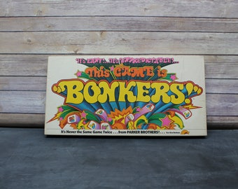 1978 This Game is Bonkers Board Game, Parker Brothers, Complete