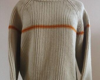 Vintage 60's Ski Sweater Large