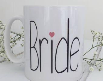 Bride | Bride Mug | Engagement Gift | Bride To Be Mug | Bride Gift
