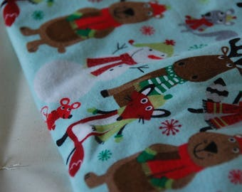 Topponcino 100% cotton Flannel - Holiday Collection