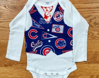 Baby Onesie Chicago Cubs