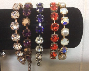 Crystal Bracelet you choose the color!