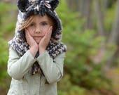 CROCHET PATTERN - Zayna Zebra Cowl (3/6 months, 6/12 months, 12/18 month, Toddler, Child, Adult sizes)