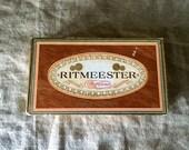 Fabulous VINTAGE Ritmeester Cigar box. My Vintage home.