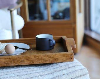 Oak Serving Tray // Breakfast in Bed