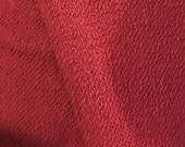 Wine French Terry  Fabric...