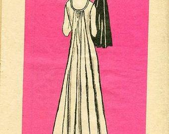Sz 16 - Mail Order Pattern 4808 - Misses' Vintage Dress - Uncut