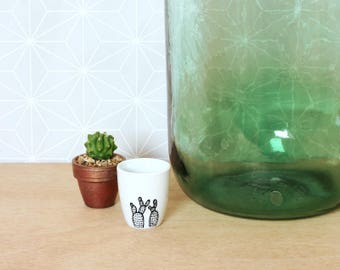 Cactus espresso cup