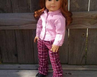 Pink and Professional Outfit for American Girl 18 inch dolls