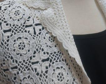 1960's Crochet Cardi
