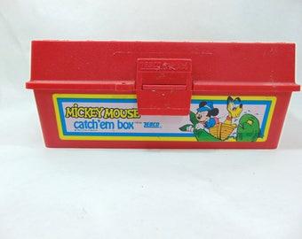 1980s Mickey Mouse Tackle Box Tacklebox Tackle Box Vintage Kids Tackle  sc 1 st  Etsy & Tackle box   Etsy Aboutintivar.Com