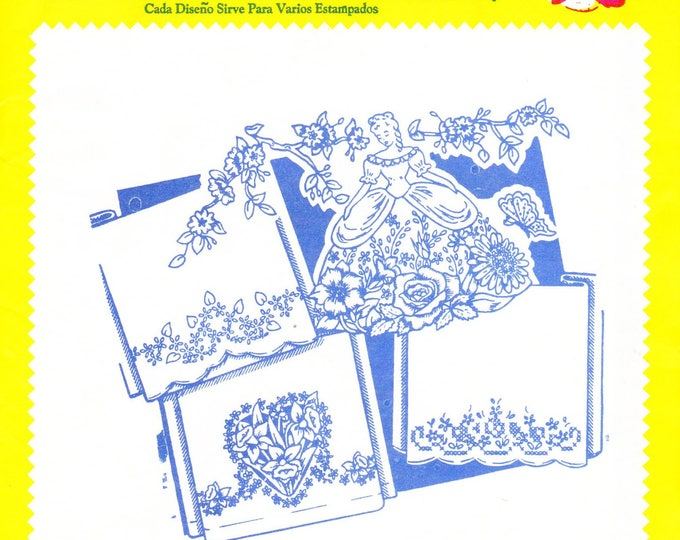 Vintage Aunt Martha's Hot Iron Transfers 3140, Pillow Slips