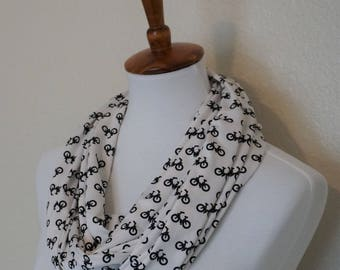Infinity Scarf, Bicycle Scarf, Hipster Scarf