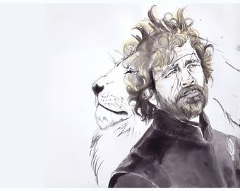Game of Thrones: Tyrion Lannister Fine Art Print