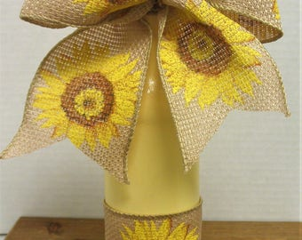 Ribbon Vase Etsy